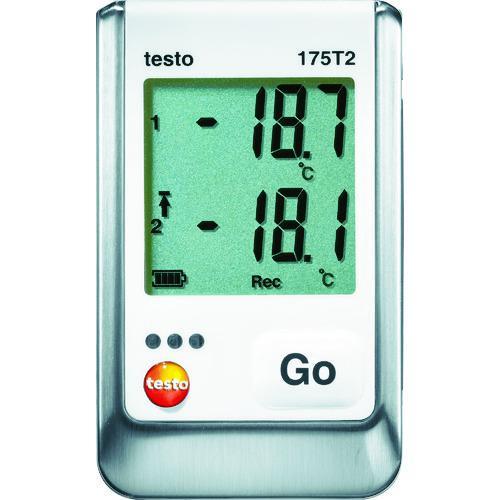 ■テストー 温度データロガ内蔵1チャンネル+外付1チャンネル  TESTO175-T2 【3924866:0】