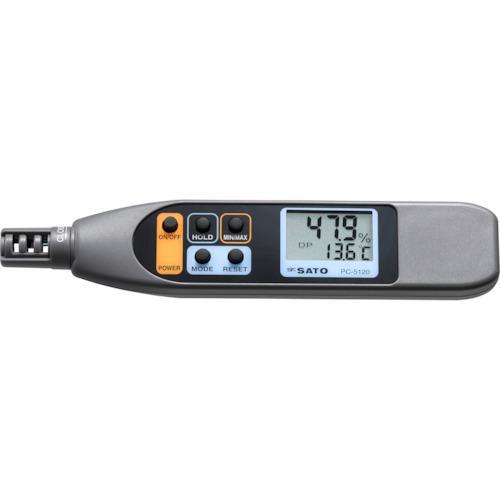 ■佐藤 ペンタイプ温湿度計 PC-5120  PC-5120 【3947611:0】