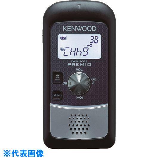 ■ケンウッド 特定小電力トランシーバー UBZ-S20B 【3953751:0】