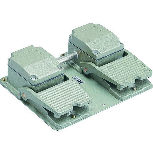 ■オジデン フットスイッチ 産業用防雨形 電気定格6A-250VAC OFL-TW-SM2 大阪自動電機(株)【3966097:0】