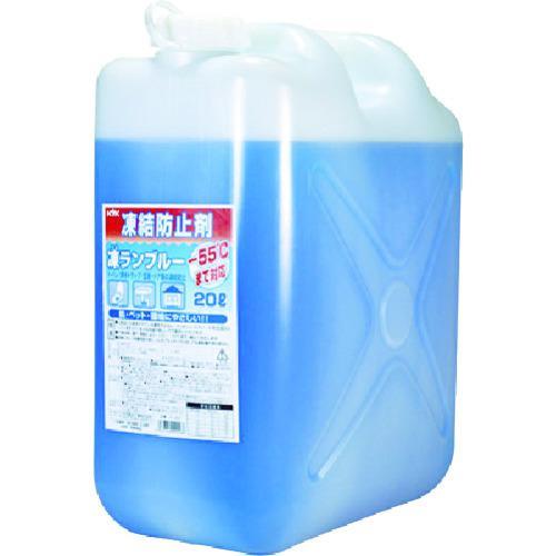 ■KYK 住宅用凍結防止剤凍ランブルー20L 41-201 古河薬品工業(株)【4010493:0】
