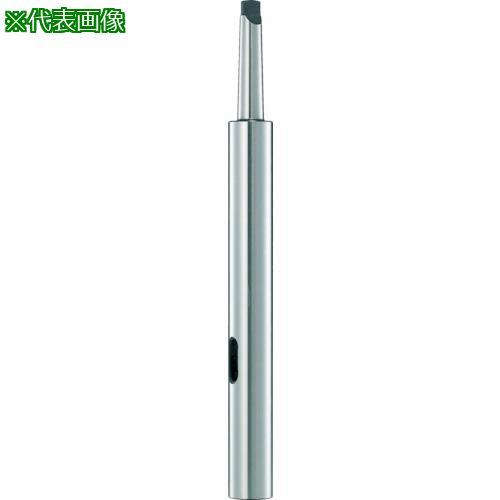 ■TRUSCO ドリルソケット焼入研磨品 ロング MT1XMT2 首下150MM  〔品番:TDCL-12-150〕【4026209:0】