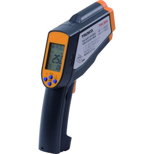 ■TRUSCO 放射温度計 測定温度範囲-60~1600℃ TIR-304 トラスコ中山(株)【4027078:0】
