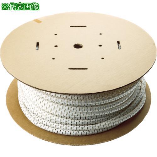■パンドウイット 電線保護チューブ スリット型スパイラル パンラップ 束線径20.6Φmm 30m巻き 難燃性白 PW100FR-CY 【4037847:0】