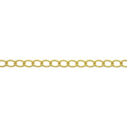 ■ニッサチェイン 真鍮キリンスマンテルチェイン 2.6MM×30M  BM126 【4056655:0】