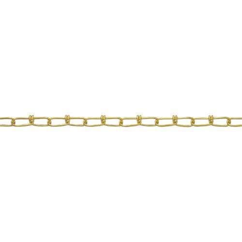■ニッサチェイン 真鍮キリンスビクターチェイン 2.0MM×30M  BV20 【4056680:0】