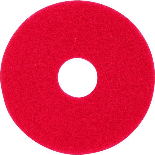 ■3M レッドバッファーパッド 赤 230×82MM  (5枚入)  〔品番:RED〕【4062833:0】