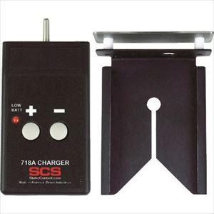 ■SCS 静電気センサー718用チャージャーセット 718A DESCO JAPAN【4106865:0】