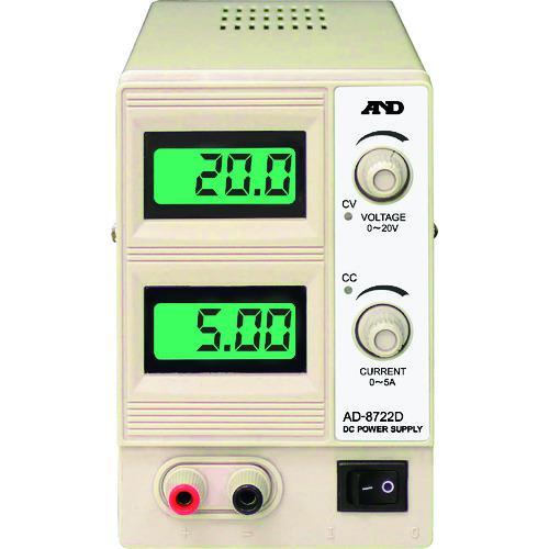 ■A&D 直流安定化電源  AD8722D 【4132891:0】