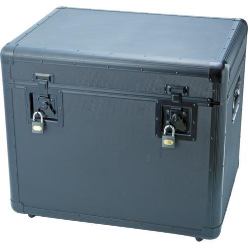 ■TRUSCO 万能アルミ保管箱 黒 610X457X508 TAC-610BK トラスコ中山(株)【4162960:0】