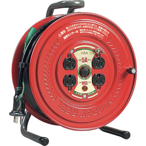 ■ハタヤ 温度センサー付コードリール 単相100V30M アース付  GS-301KS 【4189639:0】