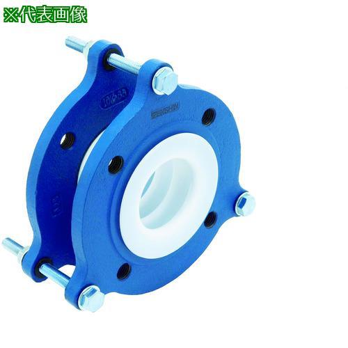 ■ゼンシン フッ素樹脂製防振継手(フランジ型) ZTF-5000-25 ゼンシン(株)【4204336:0】