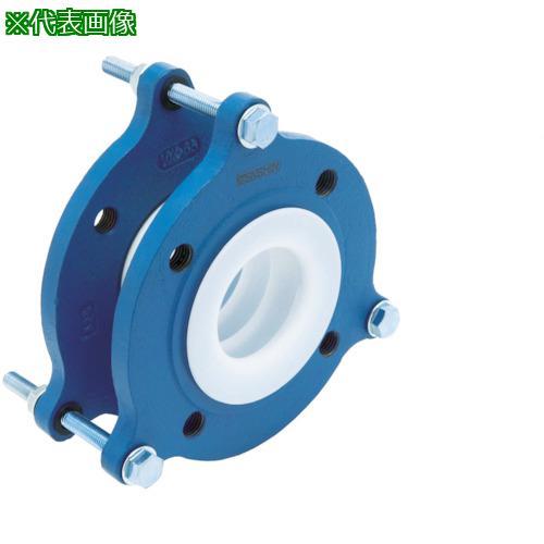 ■ゼンシン フッ素樹脂製防振継手(フランジ型) ZTF-5000-80 ゼンシン(株)【4204387:0】