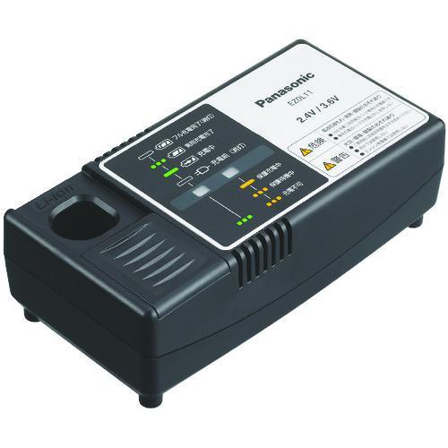 ■PANASONIC ニッケル水素電池パック2.4V/3.6V用充電器  〔品番:EZ0L11〕【4228961:0】