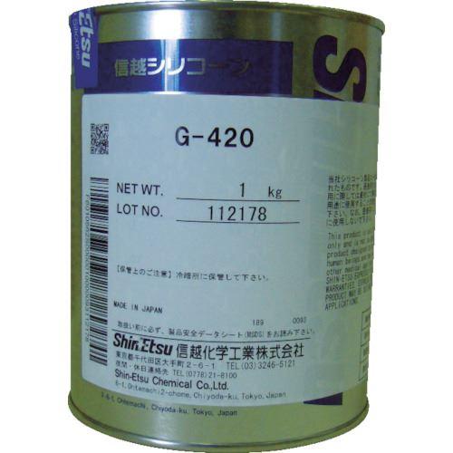 ■信越 高温潤滑用シリコーングリース 1kg G420-1 信越化学工業(株)【4230019:0】