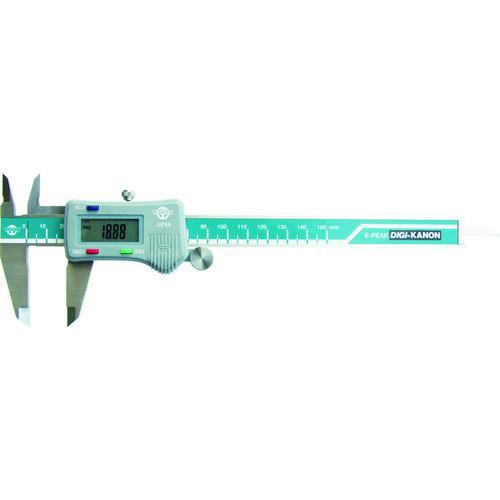 ■カノン 最大値・最小値ホールドデジタルピタノギス150mm E-PEAK15 (株)中村製作所【4333691:0】