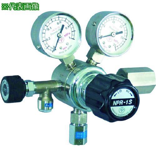 ■ヤマト 分析機用圧力調整器 NPR-1S NPR-1S-R-12N01-2210-F-H2 ヤマト産業(株)【4344880:0】