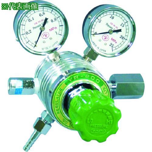 ■ヤマト フィン付圧力調整器 YR-200  YR-200-R-D-12HG05-CH4 【4346670:0】