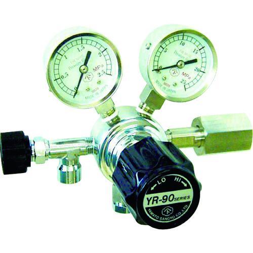 ■ヤマト 分析機用圧力調整器 YR-90S  YR-90S-R-11N01-2210 【4346891:0】