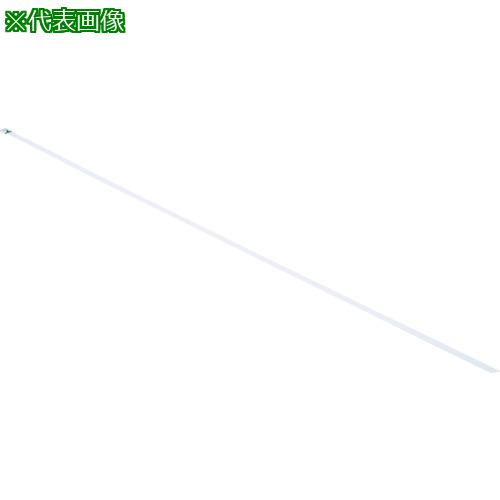 ■パンドウイット MLTタイプ 自動ロック式ステンレススチールバンド SUS316 幅4.6mm 長さ259mm 100本入り MLT2.7S-CP316 【4348192:0】