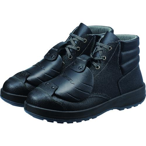 ■シモン 安全靴甲プロ付 編上靴 SS22D-6 25.5cm SS22D-6-25.5 (株)シモン【4351479:0】