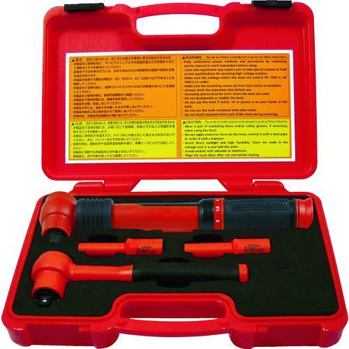 ■Tech-EV 絶縁工具セット ミニ 4点セット TEVSETMINI 【4361211:0】