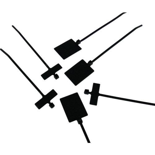 ■パンドウイット 旗型タイプナイロン結束バンド 耐候性黒 (500本入) PL2M2S-D0 【4382625:0】