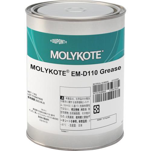 ■モリコート 樹脂・ゴム部品用 EMD-110グリース 1kg EMD-110-10 【4386884:0】