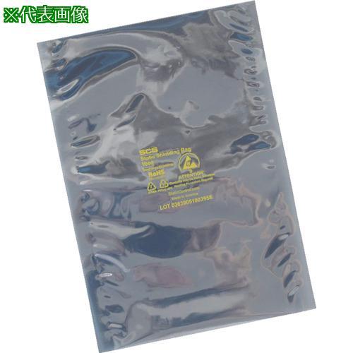■SCS 静電気シールドバッグ フラットタイプ 457X508mm 100枚入り 1001820 DESCO JAPAN(株)【4451112:0】