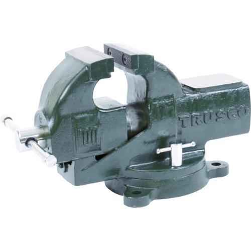 ■TRUSCO 強力アプライトバイス(回転台付タイプ) 100mm TSRV-100 トラスコ中山(株)【4453492:0】