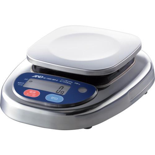 ■A&D 防塵防水デジタルはかり(検定付・4区)  HL1000IWP-K-A4 【4548680:0】
