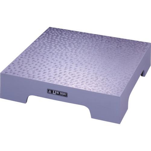 ?ユニ 箱型定盤(A級仕上)450x600x100mm 〔品番:U-4560A〕直送【4665406:0】【大型・重量物・送料別途お見積り】
