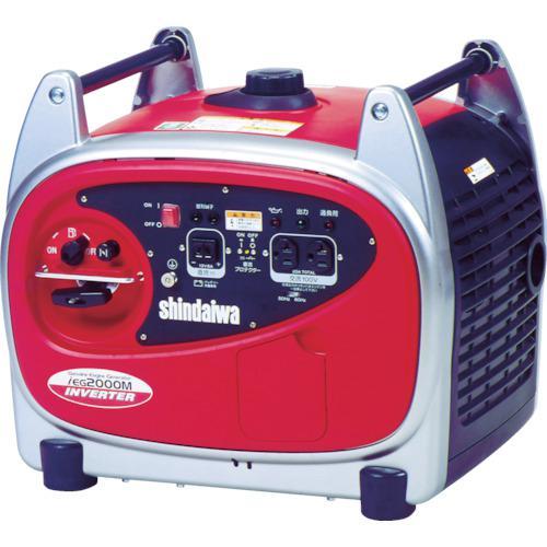 ■新ダイワ 防音型インバーター発電機 2.0KVA  〔品番:IEG2000M-Y〕【4689381:0】【大型・重量物・個人宅配送不可】