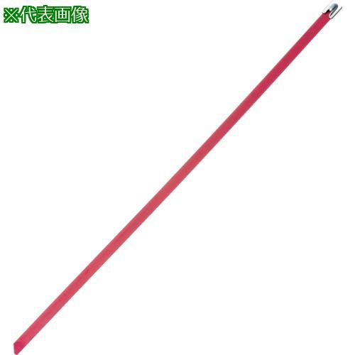 ■パンドウイット MLTタイプ フルコーティングステンレススチールバンド SUS316 赤 幅8.1mm 長さ521mm 50本入り MLTFC6H-LP316RD 【4774922:0】