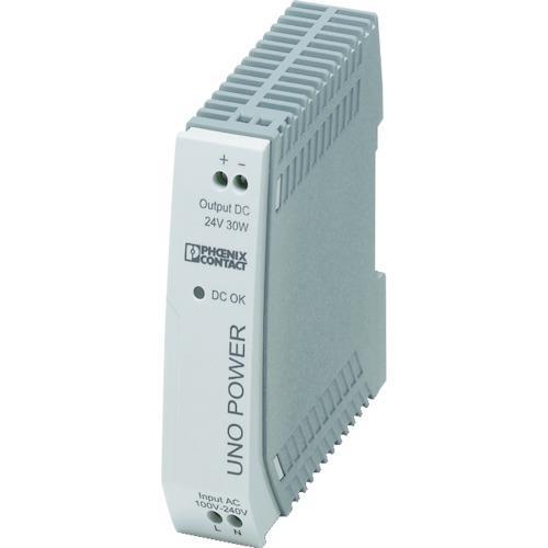 ■フエニックス フエニックスコンタクト 電源ユニット DINレール取付け 30W UNO-PS/1AC/24DC/ 【4798287:0】