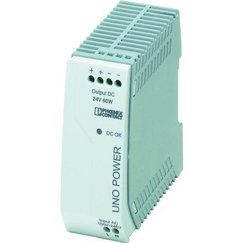 ■フエニックス フエニックスコンタクト 電源ユニット DINレール取付け 60W UNO-PS/1AC/24DC/ 【4798295:0】