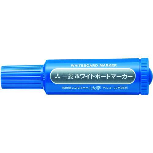 三菱鉛筆 オフィス備品 ホワイトボード ■uni 三菱鉛筆/ホワイトボードマーカー/太字/青 PWB7M.33 三菱鉛筆【4805402:0】