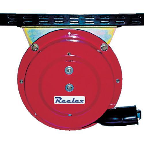 ■Reelex 自動巻アースリール吊下げ取付タイプ50Aアースクリップ付 ER-415C 中発販売(株)【4812166:0】