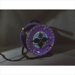 ■日動 防雨型電工ドラム LEDラインドラム オレンジ  NPWL-EB33-O 【4866177:0】