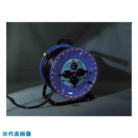 ■日動 防雨型電工ドラム LEDラインドラム オレンジ  NPWL-EK33-O 【4866215:0】