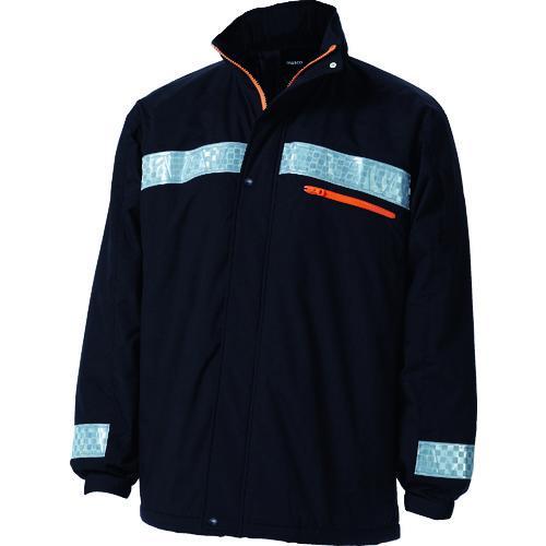 ■TRUSCO 暖かブルゾン Lサイズ ブラック TATBB-L-BK トラスコ中山(株)【4877993:0】