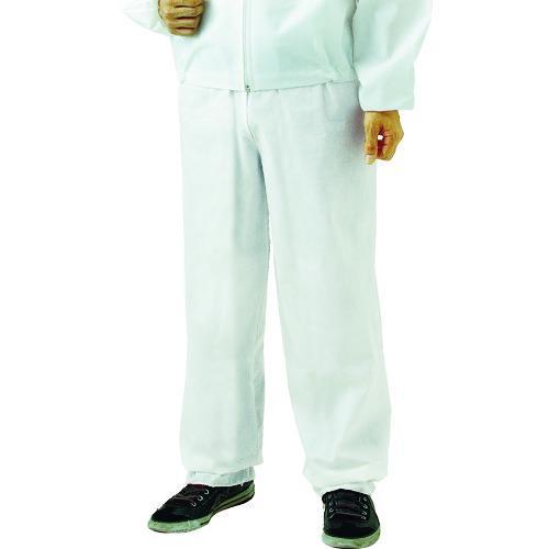 ■TRUSCO まとめ買い 不織布使い捨て保護服ズボン 3L (80着入) TPC-Z-3L-80 トラスコ中山(株)【4880234:0】