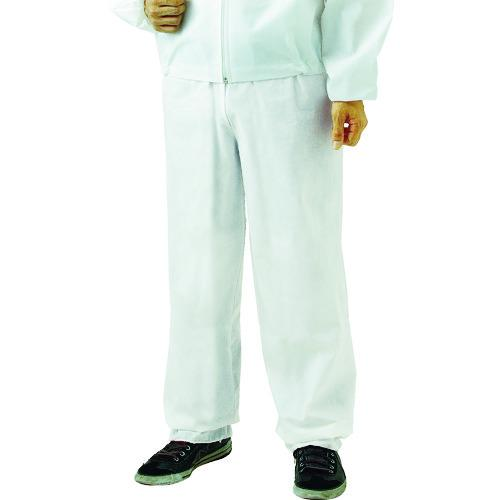 ■TRUSCO まとめ買い 不織布使い捨て保護服ズボン L (80着入) TPC-Z-L-80 トラスコ中山(株)【4880242:0】