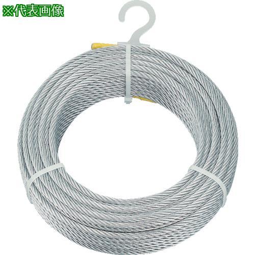 ■TRUSCO メッキ付ワイヤロープ Φ8MMX50M  CWM-8S50 【4891139:0】