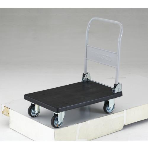 ■TRUSCO 導電性グランカート 折りたたみ 800X535  〔品番:TP-D801〕直送元【4893352:0】【大型・重量物・個人宅配送不可】
