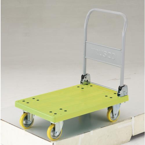 ■TRUSCO 帯電防止性グランカート 折りたたみ 800X535  〔品番:TP-E801〕直送元【4893476:0】【大型・重量物・個人宅配送不可】