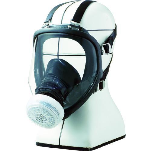 ■シゲマツ 直結式小型全面形防毒マスク GM166 (株)重松製作所【4896149:0】