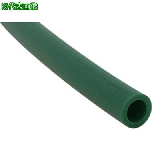 ■チヨダ TEタッチチューブ 10mm/100m 緑 TE-10-100 千代田通商(株)【4917804:0】