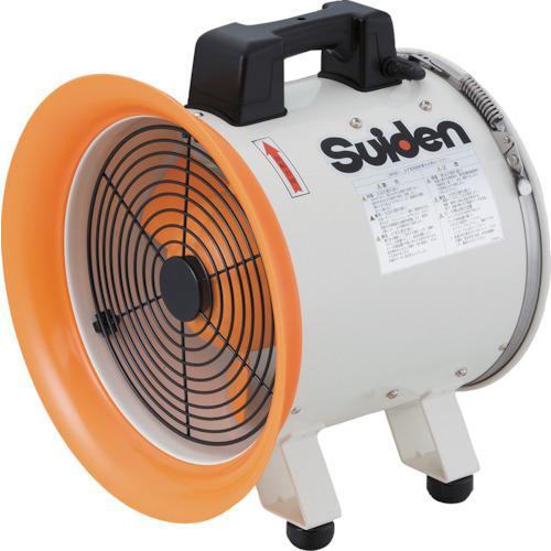 ■スイデン 送風機 ハネ300mm 100V ポッキンプラグ仕様 SJF-300RS-1P (株)スイデン【4946316:0】