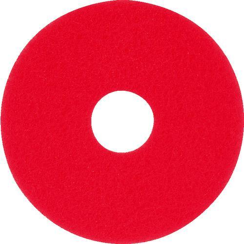 ■アマノ フロアパッド13 赤(5枚) HEC801500 アマノ(株)【4961552×5:0】